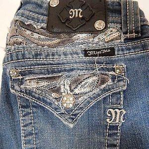 Miss Me Jeans Women's SIZE 28 JP5124B3L Boot Cut